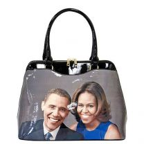 PA0048 The Obamas Décor Magazine Cover Picture Shoulder Bag