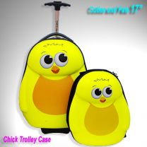 CUTIES & PALS-CHICK TROLLEY CASE