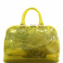 CANDY / JELLY BAG WITH GLITTER TEXTURE