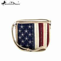 US10-8287 Montana West American Pride Crossbody Bag