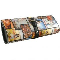 LANY5569 Collage Print Clutch
