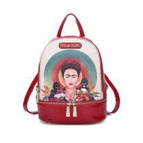 FKR930 Authentic Frida Kahlo with Monkeys Small Backpack