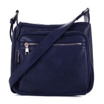 C5806 CONCEALED CARRY MULTIFUNCTION CROSSBODY BAG~NAVY