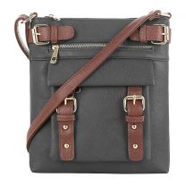C8535L HANNAH CONCEALED CARRY CROSSBODY BAG BLACK