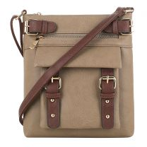 C8535L HANNAH CONCEALED CARRY CROSSBODY BAG~STONE