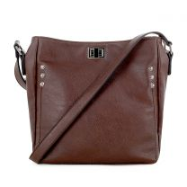 C90268L ALI CONCEALED CARRY CROSSBODY BAG BROWN