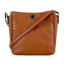 C90268L ALI CONCEALED CARRY CROSSBODY BAG TAN