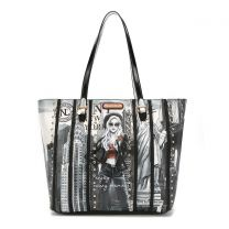 LNY16054 NICOLE LEE LIFE IN NEW YORK CHIC TOTE BAG