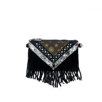 MW901-181 MONTANA WEST SIGNATURE MONOGRAM COLLECTION CLUTCH/CROSSBODY BLACK