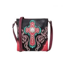 MW995G-9360 MONTANA WEST SPIRITUAL COLLECTION CONCEALED CARRY CROSSBODY~BLACK