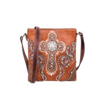 MW995G-9360 MONTANA WEST SPIRITUAL COLLECTION CONCEALED CARRY CROSSBODY~BROWN
