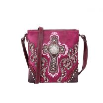 MW995G-9360 MONTANA WEST SPIRITUAL COLLECTION CONCEALED CARRY CROSSBODY~PURPLE