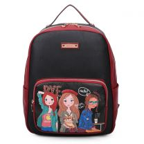 NK10734 NIKKY FRANCES BACKPACK GIRLS WANT TO HAVE FUN