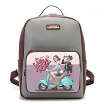 NK10734 NIKKY LOVE RIDE BACKPACK