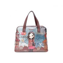 NK11008 NIKKY HAILEE DREAMS BIG SATCHEL BAG