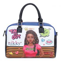 NK12003 NIKKY TAKE ME OUT BOSTON BAG
