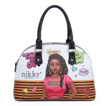 NK12004 NIKKY TAKE ME OUT DOME SATCHEL