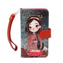 NK20303 NIKKY SATINE UNIVERSAL PHONE PRINT CASE~HAILEE DREAMS BIG