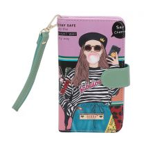 NK20303 NIKKY SATINE UNIVERSAL PHONE PRINT CASE~LOVE ME TENDER