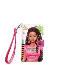 NK20303 NIKKY SATINE UNIVERSAL PHONE PRINT CASE~TAKE ME OUT