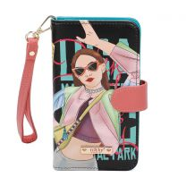 NK20303 NIKKY SATINE UNIVERSAL PHONE PRINT CASE~VICKY DOES SPORTS