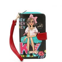 NK20303P NIKKY PHONE CASE POUCH~EYE CONTACT