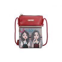 NK21000 NIKKY STYLISH CROSSBODY TWIN SISTER