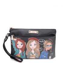 NK21009 NIKKY CASUAL POUCH WRISTLET GIRLS WANT TO HAVE FUN