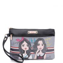 NK21009 NIKKY CASUAL POUCH WRISTLET TWIN SISTER