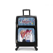"""NKLG1420 NIKKY 20"""" LUGGAGE~QUEENIES"""