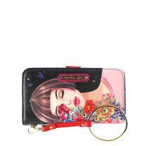 PRT6700 NICOLE LEE WALLET WRISTLET STRAP WITH BRACELET~THINKING OF YOU