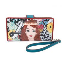 PRT6901 NICOLE LEE WRISTLET WALLET CATCH ME IF YOU CAN