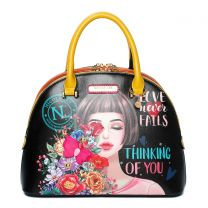 THI15401 NICOLE LEE DOME SATCHEL~THINKING OF YOU