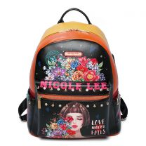 USB12769 NICOLE LEE BACKPACK WITH USB CHARGING PORT~THINKING OF YOU
