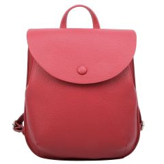 CA108 FASHION CONVERTIBLE BACKPACK/CROSSBODY~RED