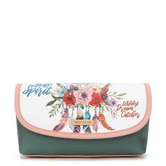 COS7112 MAKE UP BRUSH HOLDER COSMETIC POUCH~BOHEMIAN(WHITE)
