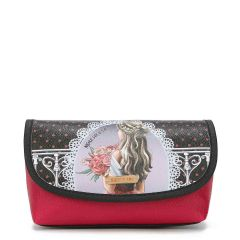COS7112 MAKE UP BRUSH HOLDER COSMETIC POUCH~WAITING FOR YOU