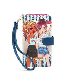 NK20303P NIKKY PHONE CASE POUCH~QUEENIES