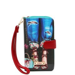 NK20303P NIKKY PHONE CASE POUCH~LOVELY FEET