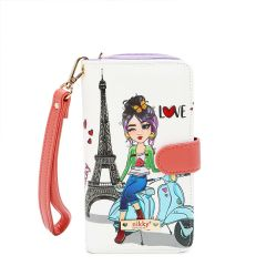 NK20303P NIKKY PHONE CASE POUCH~SCOOTER SOPHIE