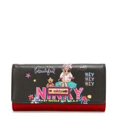 NK20375 NIKKY TRIFOLD WALLET V.2~EYE CONTACT