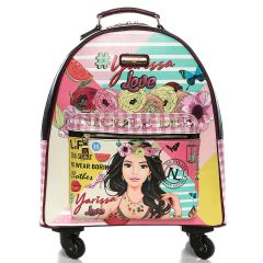 RT1507 NICOLE LEE EXPANDABLE SPINNER CARRY ON LUGGAGE 17inch~YARISSA